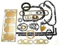 FULL Engine Gasket Set - Cletrac HG, Oliver OC-3, OC-4 Hercules IXA IXK IXB IX-5