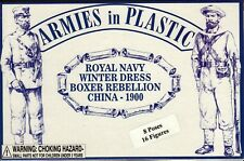 Armies in Plastic Boxer Rebellion (1900) Royal Navy Winter dress 1/32 Scale 54mm