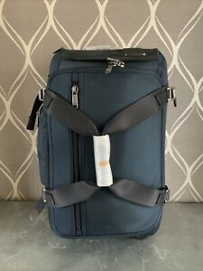New Tumi Wheeled Duffel Carry-On (MSRP $750) Blue Style 02228440NVY Expandable