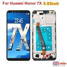 Huawei Honor 7X BND-L21 Complete LCD Display Screen + Digitizer + Frame Black UK