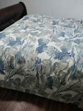 Tommy Bahama  Raw Coast KING Comforter Blue TROPICAL FLORAL