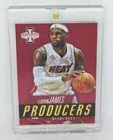 2012-13 Panini Innovation Producers #9 Lebron James Miami Heat