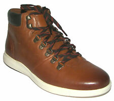 COLE HAAN Brown Leather Mens Boots Sz 8M