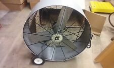 TPI 36'' Direct Drive Drum Fan PB 36-D 12,500 CFM 1/3 HP