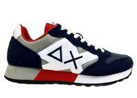 Scarpe da per uomo SUN 68 JAKI Z31111 sneakers basse casual sportive comode blu