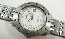Seiko SGD553 Silver Tone Stainless Steel 7N42-6181 Sample Watch NON-WORKING