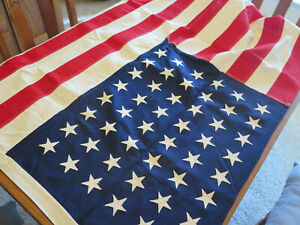 "1959 Vintage 48-star U.S. Flag, 3x5, Annin ""DEFIANCE""  NOS MIB"