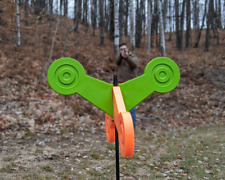 Spinning Shooting Target, Durable and Self Healing, Made in the Usa