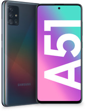 Samsung A515F Galaxy A51 128GB+4GB RAM (Prism Crush Black) Quad-Kamera BRANDNEU