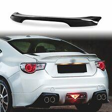 Painted D4S Raven Black Rear Trunk Spoiler For Subaru BRZ Scion FR-S Toyota 86