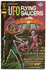 UFO Flying Saucers 12 VF- 7.5 Gold Key 1976