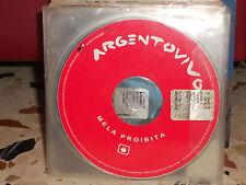 ARGENTOVIVO - MELA PROIBITA - cd singolo - 2003