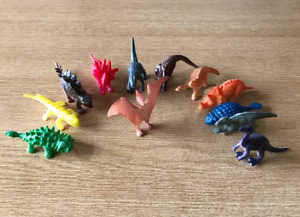 Plastic Dinosaur Toy Figures - Mixed Bag - Contents approx 70.