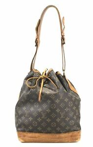 100% authentic Louis Vuitton Monogram Petit Noe M42226 shoulder bag used 143-1-z
