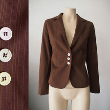 Cotton/Polyester Blazer Coats, Jackets & Vests for Women