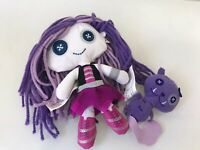 Monster High Friends Spectra Vondergeist & Rhuen Plush Dolls Complete HTF / EUC