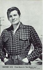 Gene Barry Bat Masterson #212 Vintage Western Penny Arcade Card