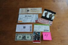 50 Cent - 5 tickets 1 backstage pass 2 cards 1 dollar bill Lot#4 Free Shipping-