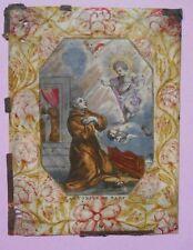 Image religieuse - Impression sur parchemin - XVIIème - Cornelis Galle I