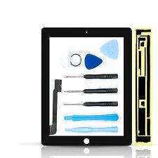 Tecnologia negozio Digitalizzatore Per iPad 3 + 4 in NERO VETRO DISPLAY TOUCH DISPLAY VETRO