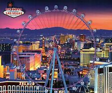 The Highroller Observation Wheel Ferris Wheel Las Vegas Nevada Casinos, Postcard