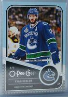 2011-12 O-Pee-Chee Playoff Beard Variation #14 Ryan Kesler Vancouver Canucks
