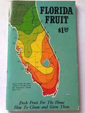 Vintage Catalog 1967 Florida Fruit Agriculture Botany How to Choose & Grow PB