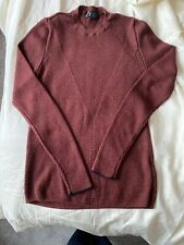 Topshop Burgundy jumper, Ribbed Size 12