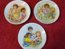 "Three 5"" dia. Mothers Day Plates from Avon (Bn)"