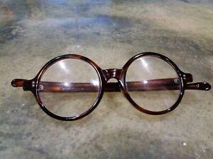 Vintage Ultra Rare Imperial Tortoise Eyeglasess John Lenon Style Dean Tart Arnel