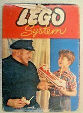 Vintage Lego - System Set # 222 42 Yellow & Blue 1x1 Bricks - Circa 1960-1965