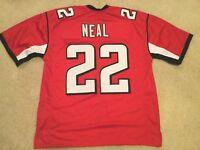UNSIGNED CUSTOM Sewn Stitched Keanu Neal Red Jersey - M, L, XL, 2XL