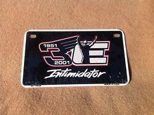 """*Motorcycle* 4"""" x 7"""" #3 Dale Earnhardt Intimidator Racing License Plate"""
