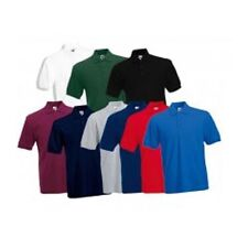 Polyester Patternless Polo Casual Shirts for Men