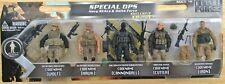 Elite Force Special Ops navy Seals & Delta Force BBI Ultimate Soldier 1/18