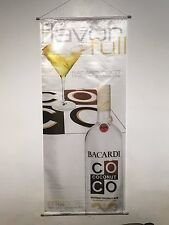 BACARDI SILK BANNERS-1 EA- VANILLA,COCONUT & ORANGE  3 TOTAL/ SOLD EA