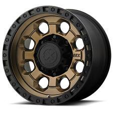 """ATX Series AX201 16x8 6x139.7/6x5.5"""" +0mm Bronze/Black Wheel Rim"""