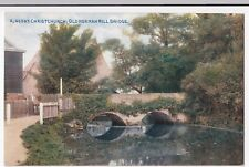 Christchurch; Old Norman Mill Bridge PPC, Unposted, By Photochrom, Celesque