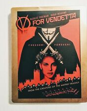 V For Vendetta (Blu-ray) Best Buy Steelbook OOP