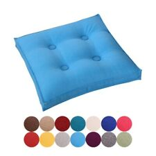 Soft Seat Booster Cushion Pads Square Thick Back Cushion Adults Chair Garden New