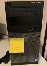 Dell Optiplex 7010 Intel Cor i3-3220 3.2ghz, 8Gb, 500Gb, Dvdrw, Win 10 & Cord