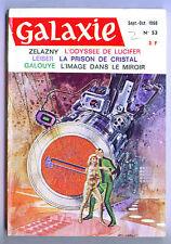 French edition GALAXY #53 - Roger Zelazny, Gray Morrow - 1968 science fiction