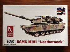 "HOBBYCRAFT 1/35 AMERICAN M1A1 "" MARINES "" MBT PLASTIC MODEL KIT # 6001 BRAND NEW"