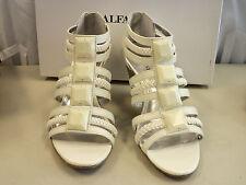 Alfani New Womens Apache Creme Wedge Sandals 7 M Shoes