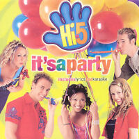 HI-5 It's A Party CD BRAND NEW Includes Lyrics And Karaoke
