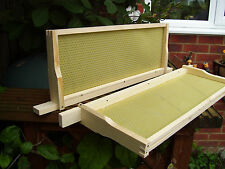 20 x SN4 Beehive Frames with Wired Foundation, Assembled