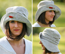 Folkwear Metropolitan HAT Retro WWI 1910s Easy Sewing Pattern # 269