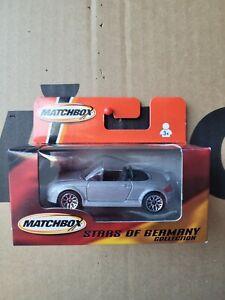 MATCHBOX STARS OF GERMANY - AUDI TT ROADSTER [SILVER] NEAR MINT VHTF BOX GOOD