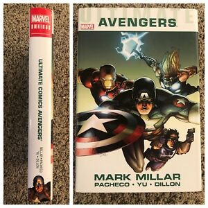 Ultimate Comics Avengers Omnibus HC Mark Millar New Ultimates Marvel 1 2 3 4 5 6