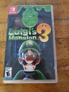 LUIGI'S MANSION 3 (Nintendo Switch) GAME excellent